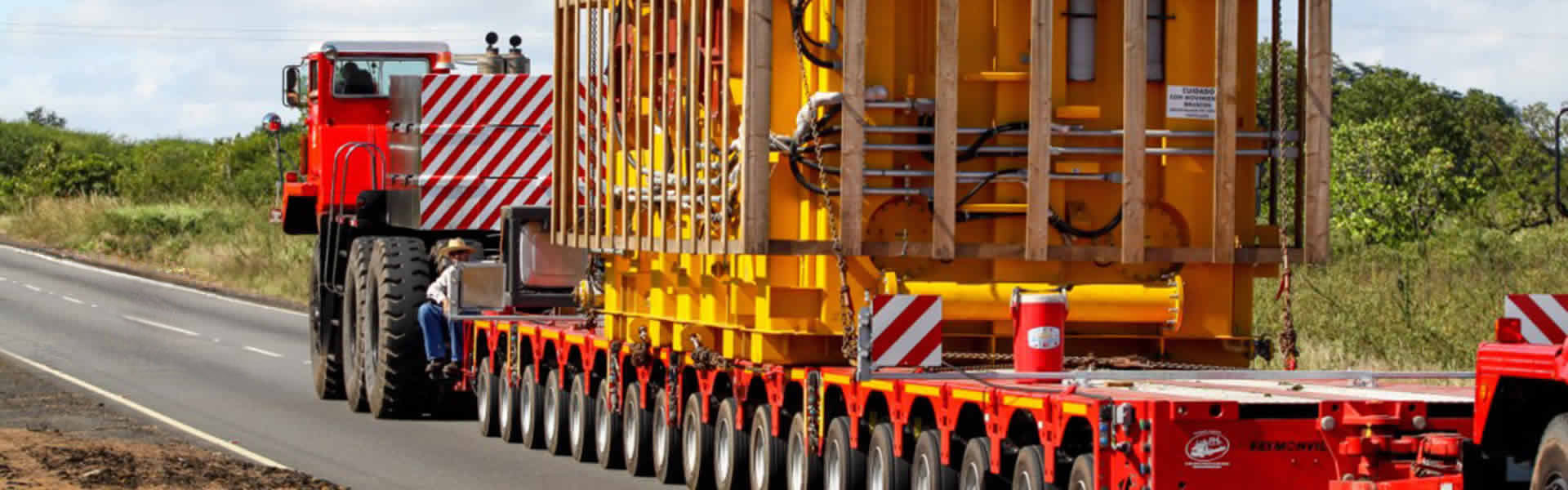 Large equipment transport